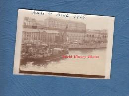 Photo ancienne - BREST ( Finist�re ) - Beau bateau au Port - Navire de Guerre - 1925 - Marine Nationale Marin