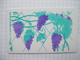 Ukraine. Grapes. 1997 Kyiv UKRTELECOM  Prepaid Phonecard. - Ukraine