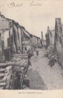 UNE RUE A MOUSSY  1916 Dép02(animée Soldats Guerre14-18) - France