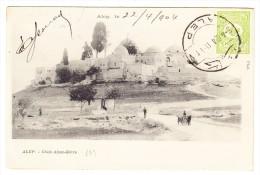 Syrien 1904 AK Alep - Chek Abou-Bèvre Als Drucksache Mit Türkische Post Nach Roma - Syrie