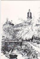 24103 Putanges Pont Ecrépin L'Eglise Et L'Orne - Illustrateur Tollet Loëb - Route Haras Chateaux Coll Bouquerel