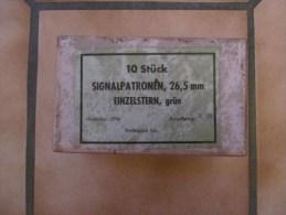 Boite de 10 Signalpatrone 26,5mm