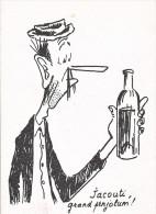 24106 Catinou Et Jacouti -charles Mouly N° 3 Grand Porte Chandelles -Toulouse -vin Alcool Bouteille - Vignes