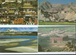 Chine.10 CPM  .Full Set 10 Postcards - Chine