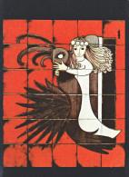 24109 Céramiques Dodik Contes Légendes Pays Celtiques Conception Merlin- Saint Malo - Capes Paris - Contes, Fables & Légendes