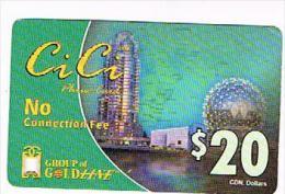 CANADA  - GOLD LINE  (REMOTE) - CI CI 20 VIEW - USED - RIF. 8831 - Canada