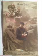 Guerre De 1914, Vers Vous Mes Bien Aimés..., Soldat De Cahors - Guerre 1914-18