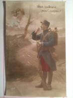 Guerre De 1914, Vous Soutenez Mon Courage, Soldat De Cahors - Guerre 1914-18