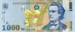 Romania 1000 Lei 1998 Pick 106 UNC - Roumanie