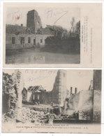 FONCQUEVILLERS - 2 CPA - Ruines   (73397) - Andere Gemeenten