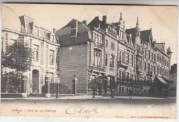 Binche - Rue de la Station - anim�e - 1906 - O.V.S. Edit. V. Winance-Nachtergaele