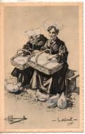 56. Lorient. Costumes. Carte Illustrée. Dessin De Charles Homualk - Lorient