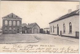 Poperinge - Poperinghe - Stationsplaats - H�tel du Pavillon - 1905 - Uitg. Eug. Willems