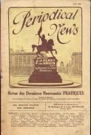 Periodical News - Revue Dernières Nouveautés Pratiques - Tijdschrift Nieuwigheden - Mai 1928 - Livres, BD, Revues