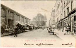 Nancy - Eglise St-Sébastien - Place Du Marché - Nancy