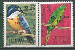 New Hebrides: Vanuatu Kingfisher (Todiramphus Farquhari) / Palm Lorikeet (Charmosyna Palmarum) - Collections, Lots & Séries