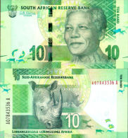 * SOUTH AFRICA 10 RAND 2012 UNC P New - Sudafrica