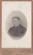 24115 Photo Femme  Format Carte Visite Photographe Voisin Loches Rue Picois  (indre Et Loire France ) - Anciennes (Av. 1900)