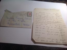 Courrier Lettre Ancienne Marrakech Médina  Tanger - Non Classificati