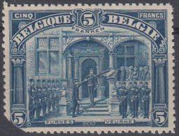 23425 5 FRANKEN COB 147 Neuf ** Endommagé Second Choix à 2% De La Cote - 1915-1920 Albert I