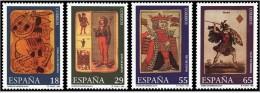ESPAÑA 1994 - MUSEO DE NAIPES - Edifil Nº 3317-3320 - YVERT 2908-2911 - 1931-Aujourd'hui: II. République - ....Juan Carlos I