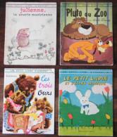 Lot De 8 Livres - Mon Premier Livre Album Hachette 4 - Un Petit Livre D'argent 4 - - Wholesale, Bulk Lots