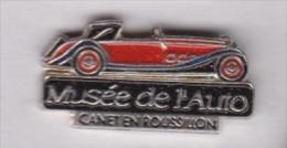 Beau Pin´s  , Auto , Musée De L'Auto , Canet En Roussillon - Pin's