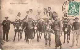 + 146 Omslagen, Betaalstrookjes, Postkaarten, Postzegels, Enz.. Met Afstempelingen Heyst Aan Zee Tussen 1883 En 1969 - Documents Of Postal Services