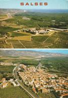 CPM  De  SALSES  (66)  -  Vue  Panoramique  Et  Le  Fort   //  TBE - Salses