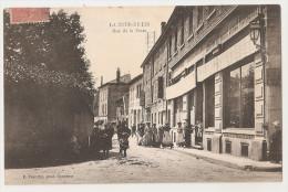 Isère - 38 - La Tour Du Pin - Rue De La Poste Animée - La Tour-du-Pin