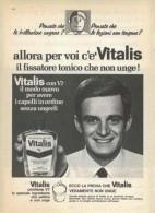 1967 -  VITALIS  -  1 Pagina Pubblicità Cm.13 X18 - Riviste