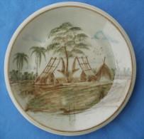 Assiette Decorative Made In Thailande - Art Asiatique