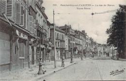 CPA Guerre 14.18 Bombardement D'Amiens La Rue De Noyon (animée) R1102 - Amiens