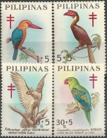Philippines: Stork-billed Kingfisher / Rufous Hornbill / Philippine Eagle / Great-billed Parrot - Collections, Lots & Séries
