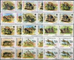 Soomaaliya 1992. Michel #432/43 MNH/Luxe. WWF  (TS11) - Somalia (1960-...)