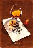 Werbekarte Der Marke Asbach Uralt - Cognak - Rückseite Preisliste Ca 1950 - Sonstige