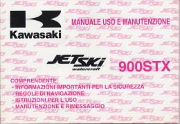 Kawasaki Jetski 900 STX 1997 Manuale Uso Moto Acqua  Genuine Owner´s Manual - Barche