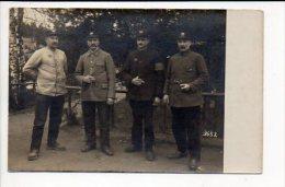 Grande Guerre 1914/1918 Ou Régiment /  Carte Photo Prisonniers 6 éme Génie à Königsbrück - Regiments