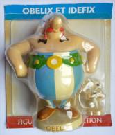 FIGURINE ASTERIX EN RESINE ATLAS PLASTOY OBELIX ET IDEFIX - Asterix & Obelix