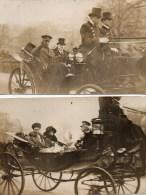 ALBERT 1er De BELGIQUE/Raymond POINCARE -PARIS 2/5 Avril 1919 - Histoire