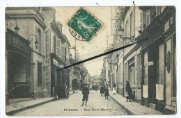 CPA - Soissons - Rue Saint Martin - Soissons