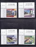 2008  PP  N°300 à 303  OBLITERES   CATALOGUE ZUMSTEIN - Gebraucht