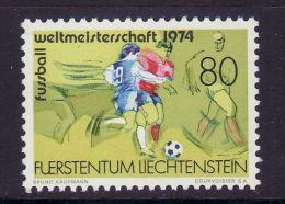 LIECHTENSTEIN 1974  MICHEL NO 606  MNH - Coppa Del Mondo