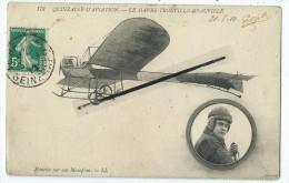 CPA - Quinzaine D'Aviation - Le Havre-Trouville- Deauville - Hanriot Sur Son Monoplan - Aviateurs