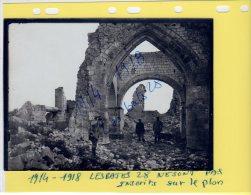 PHOTOS DOCUMENTS HISTORIQUES PHOTO ORIGINALE  Guerre 14-18    SOUAIN  EGLISE  NOV  2014 D 5 - Guerre, Militaire