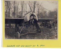 PHOTO  AVIATION Près De  COURMELOIS PRISE DE GUERRE  14-18  FOKKER E III  ALLEMAND   Entre  Reims Et Mourmelon - Guerre, Militaire