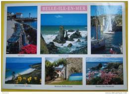 J290 56 BELLE ILE EN MER  Multi Vues   1999 2 SCANS Timbre Assistance Publique - Belle Ile En Mer