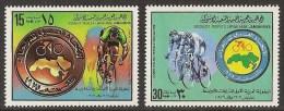 LIBYA 1979 - Junior Cycling - Set MNH - Libië
