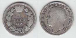 **** SERBIE - SERBIA - 1 DINAR 1879 MILAN I - ARGENT - SILVER **** EN ACHAT IMMEDIAT - Serbia