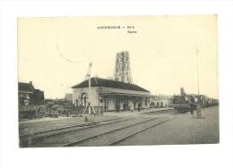Poperinghe : Gare, avec train